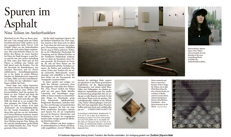 NIna-Tobien-newspapaer-FAZ-article-contemporary-art