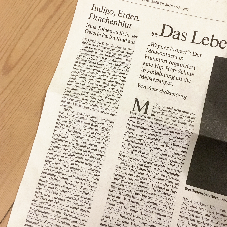 FAZ_FrankfurterAllgemeine_review_Tobien-Galerie-Parisa-Kind